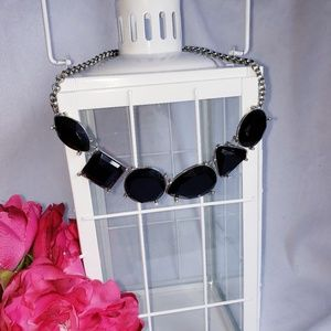 Jewelry - Black Geo Necklace